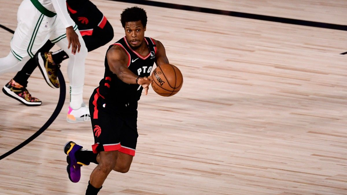 Friday NBA Player Prop Bets & Picks: How to Bet the Raptors, Lowry in Game 7 (Sept. 11) article feature image
