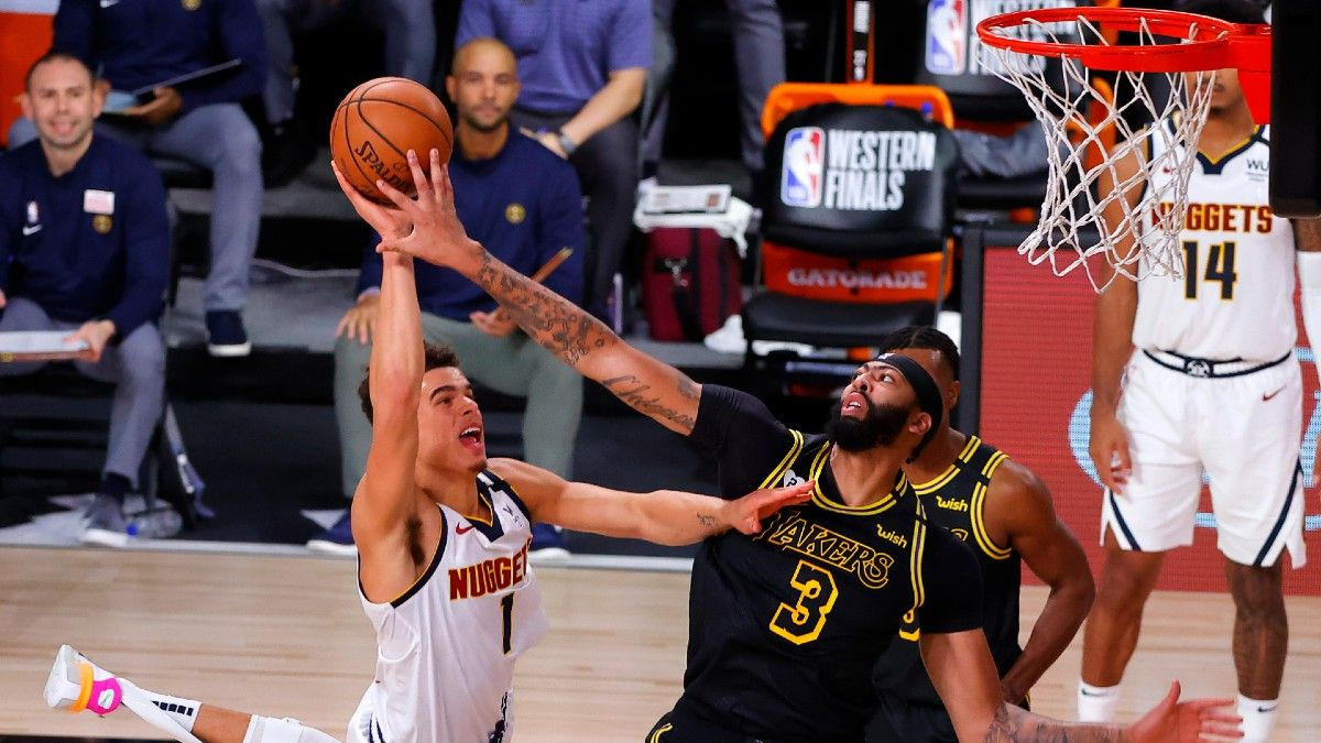 Thursday NBA Player Prop Bets & Picks: Fade Nuggets Role Players in Game 4 (Sept. 24) article feature image