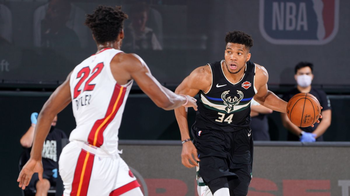 Friday NBA Playoffs Betting: Odds, Picks & Predictions for Bucks vs. Heat Game 3 (Sept. 4) article feature image