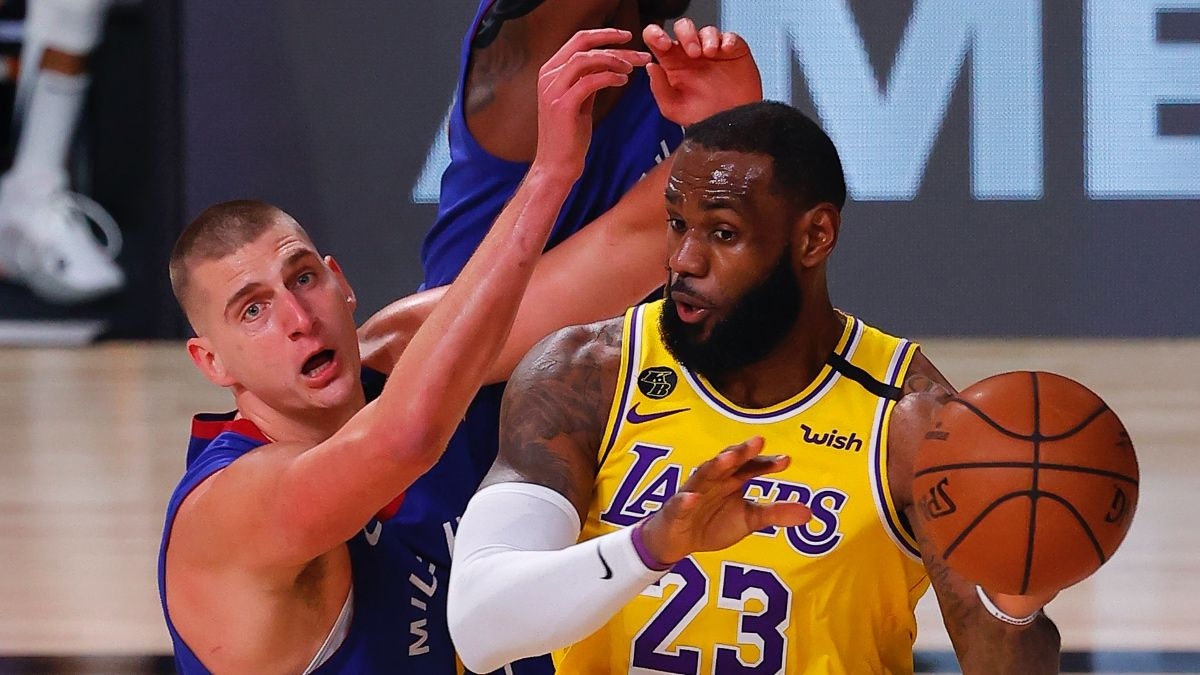 NBA Playoffs Betting Odds, Picks & Predictions: Nuggets vs. Lakers Game 2 (Sunday, Sept. 20) article feature image