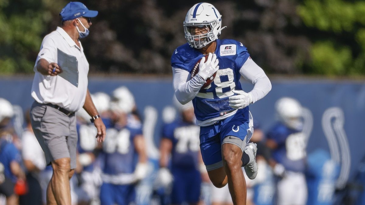 NFL Prop Bets: How To Bet Jonathan Taylor's 2020 Rushing Props article feature image