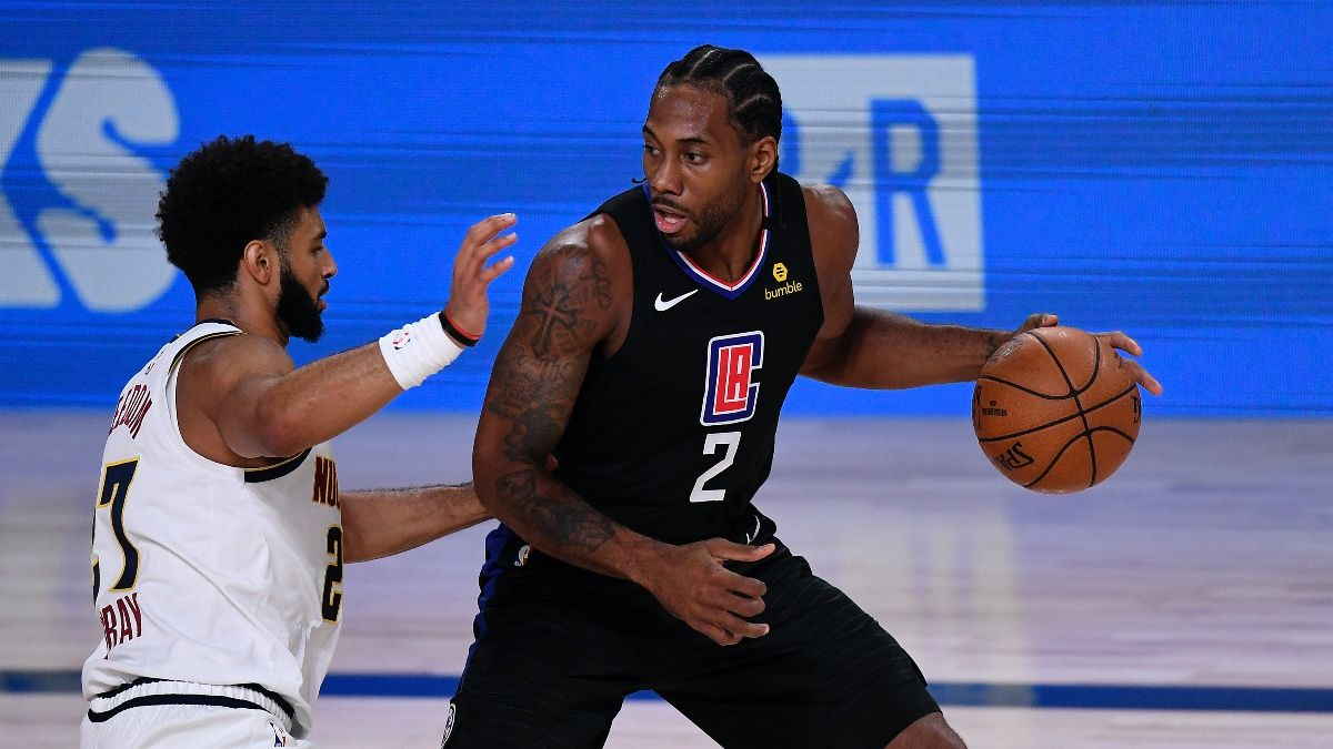 Saturday NBA Playoffs Betting Odds, Picks & Predictions: Denver Nuggets vs. Los Angeles Clippers Game 2 (Sept. 5) article feature image