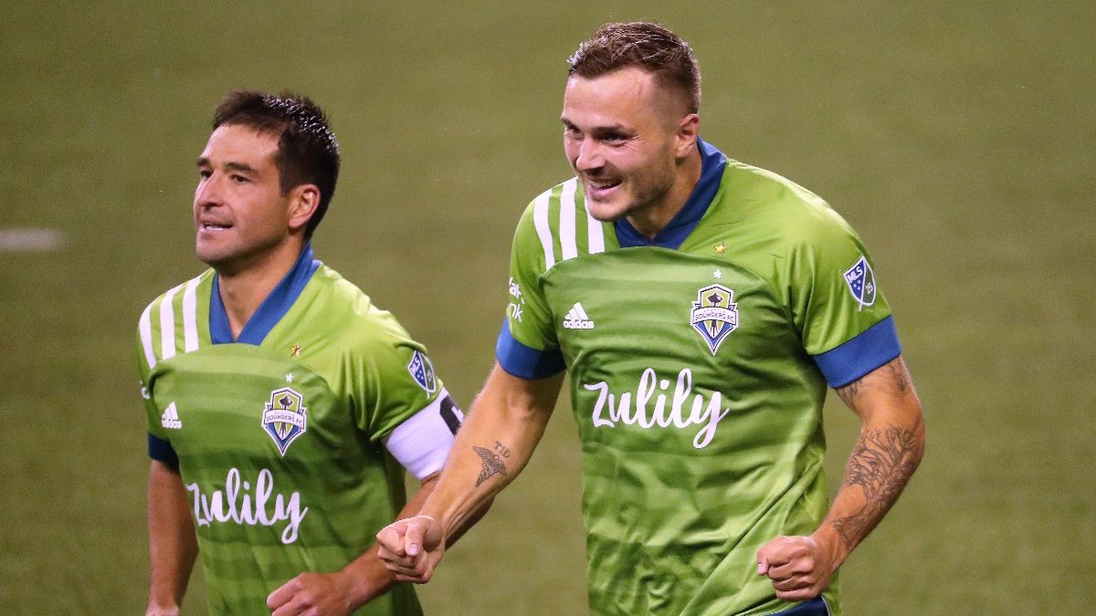 MLS Betting Odds & Picks: Seattle Sounders vs. San Jose Earthquakes (Thursday, Sept. 10) article feature image