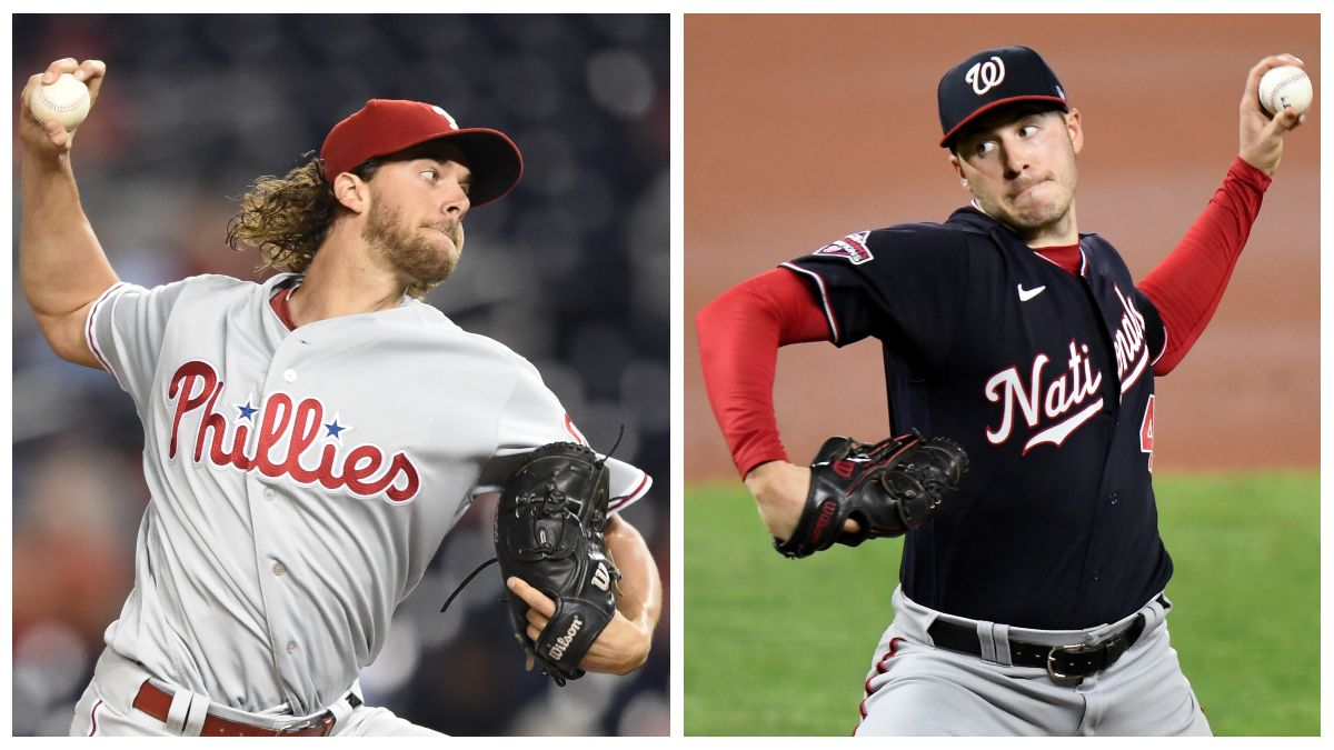 Nationals vs. Phillies Odds & Pick: How to Bet Nola vs. Corbin On Tuesday Night article feature image