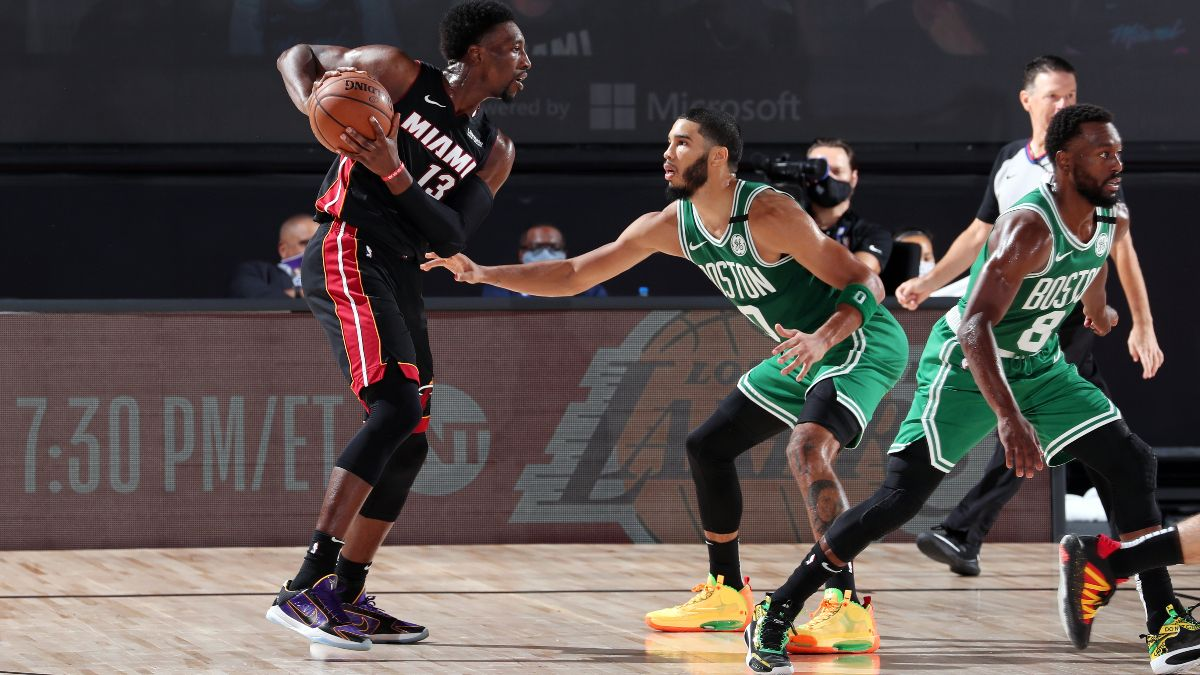 NBA Betting Picks: Our Favorite Playoff Bets for Celtics vs. Heat Game 6 (Sunday, Sept. 27) article feature image