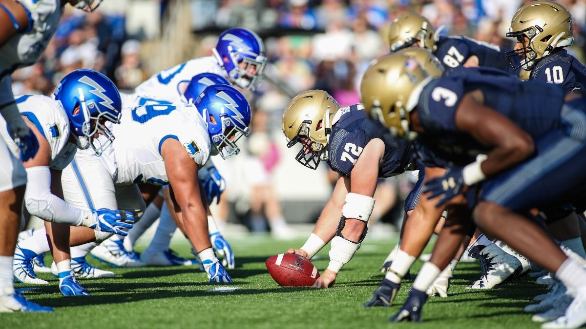 Air Force vs. Navy Betting Odds & Trends: Service Academy Over/Under Trend Put to the Test on Saturday (Oct. 3) article feature image