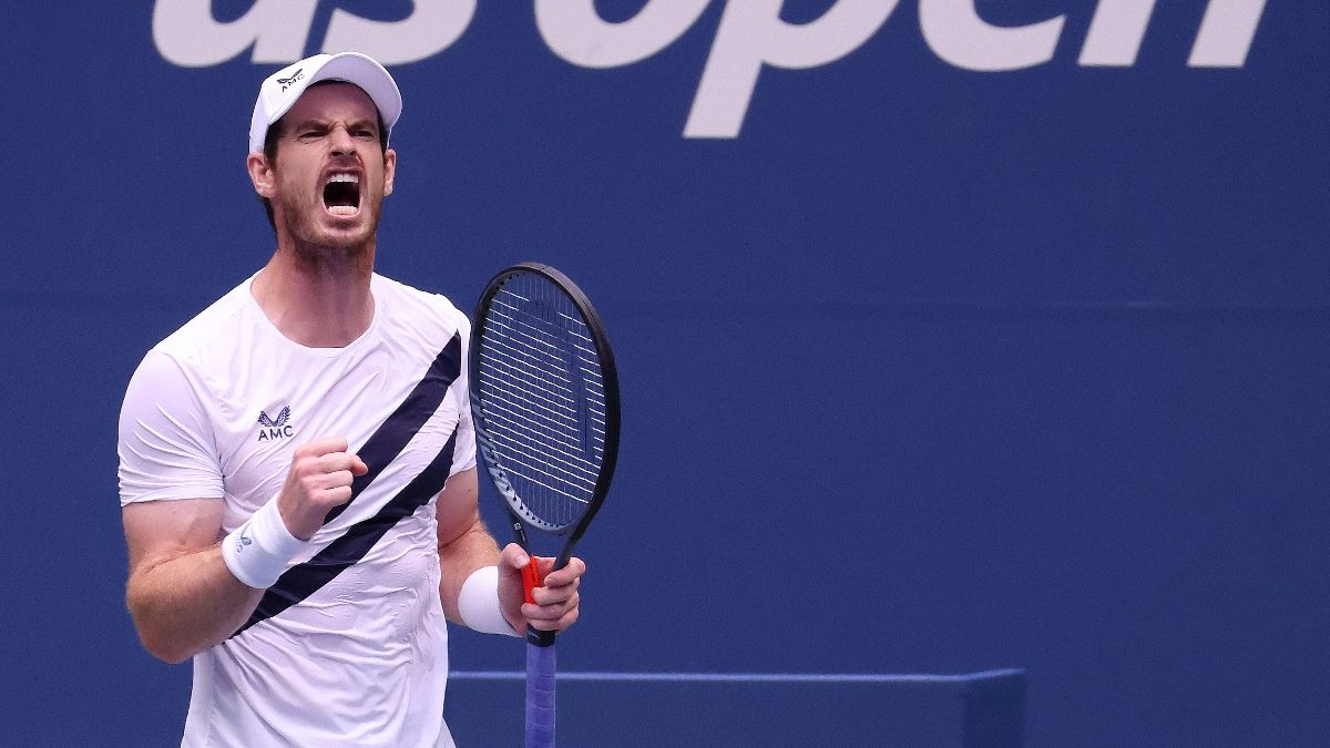 2020 US Open Updated Betting Odds & Pick: Andy Murray vs. Felix Auger-Aliassime (Thursday, Sept. 3) article feature image