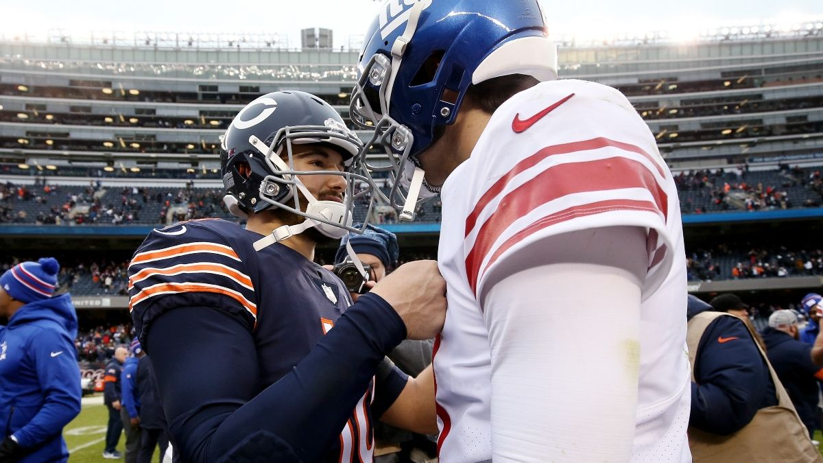 Bears vs. Giants Odds & Pick: Sunday Will Come Down To Mitch Trubisky and Daniel Jones article feature image