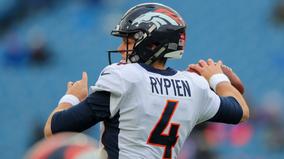 Brett Rypien Named Broncos Starting Quarterback, Moving Odds vs. Jets for Thursday Night Football article feature image