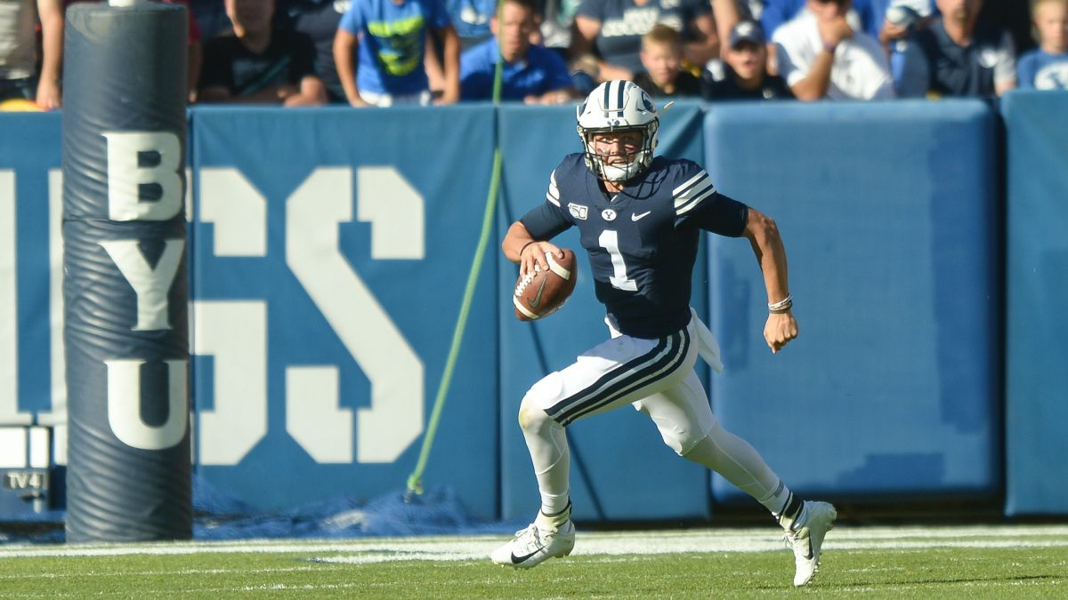 BYU vs. Navy Updated Betting Odds, Picks & Predictions (Monday, Sept. 7) article feature image