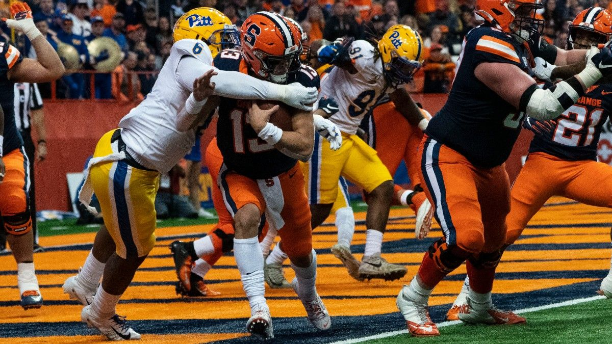 Syracuse at Pittsburgh Updated Odds & Pick: Can the New-Look Orange Defense Keep it Close? (Saturday, Sept. 19) article feature image