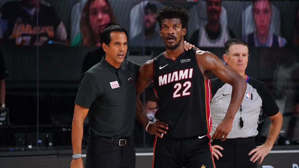 Miami Heat vs. Los Angeles Lakers Odds, Pick: Sharps, Experts Betting NBA Finals Game 1 Spread article feature image