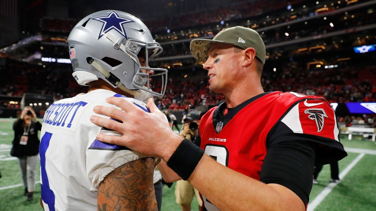 Falcons vs. Cowboys Odds & Pick: How To Play the Highest Total of Week 2 (Sept. 20) article feature image