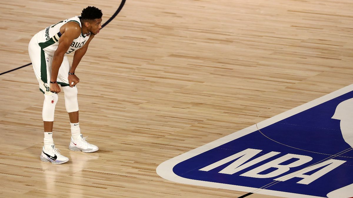 Updated NBA Playoffs Series Odds & Round 2 Schedule: Bucks On the Brink After Game 3 Loss to the Heat article feature image