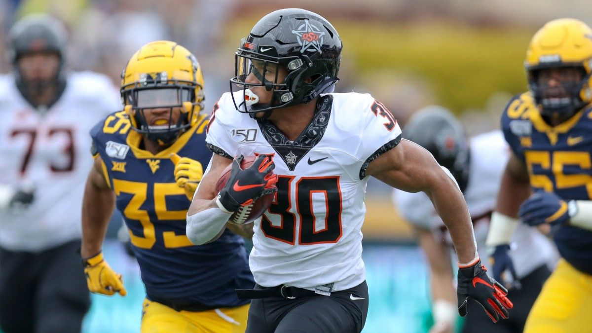 West Virginia at Oklahoma State Betting Odds & Pick: Back the Cowboys' Star-Studded Offense (Saturday, Sept. 26) article feature image