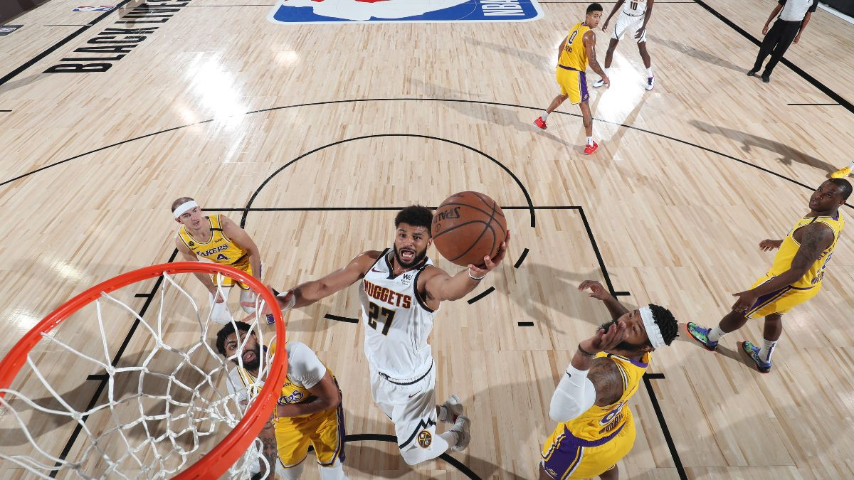 Friday NBA Betting Picks & Predictions: Our Staff's Favorite Playoff Bets for Nuggets vs. Lakers Game 1 (Sept. 18) article feature image