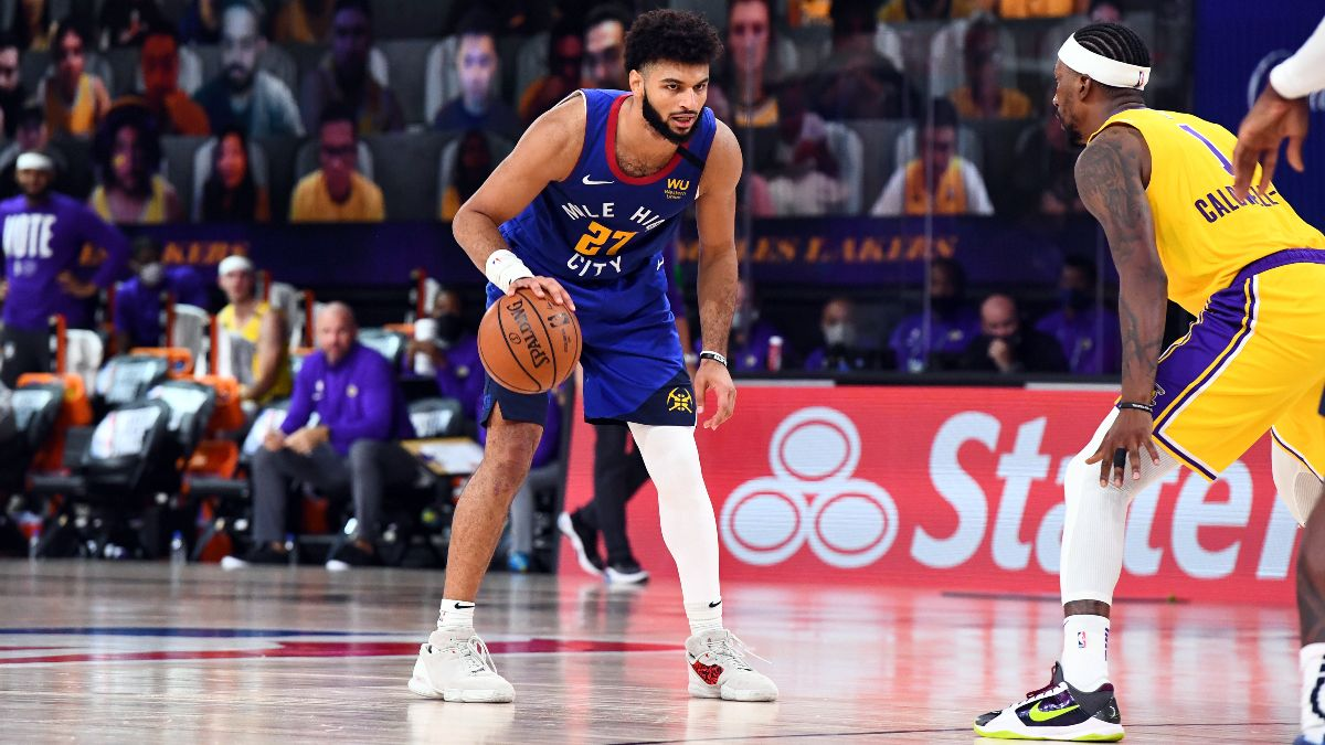 NBA Betting Picks & Predictions: Our Favorite Playoff Bets for Nuggets vs. Lakers Game 2 (Sunday, Sept. 20) article feature image