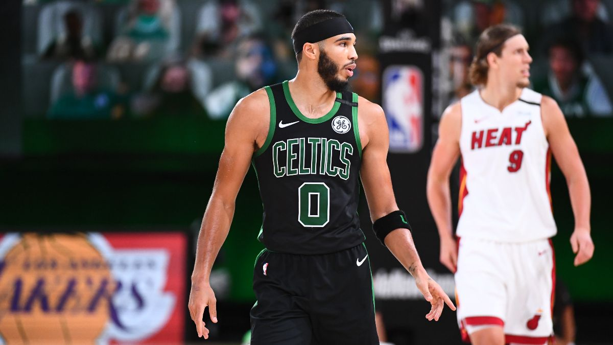 Saturday NBA Playoffs Betting Odds, Picks & Predictions: Celtics vs. Heat Game 3 (Sept. 19) article feature image