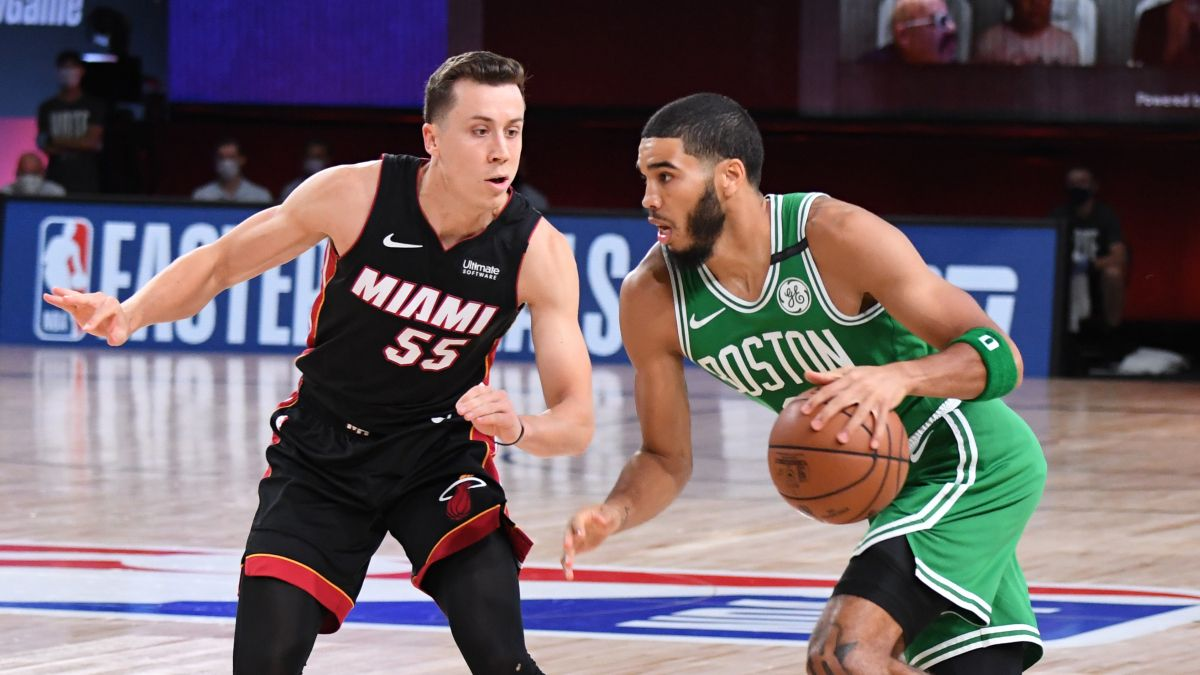 Wednesday NBA Playoffs Betting Odds, Picks & Predictions: Celtics vs. Heat Game 4 (Sept. 23) article feature image
