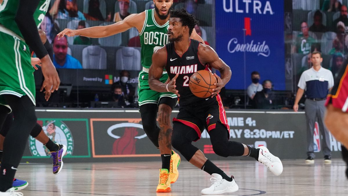 Wednesday NBA Betting Picks: Our Favorite Playoff Bets for Celtics vs. Heat Game 4 (Sept. 23) article feature image