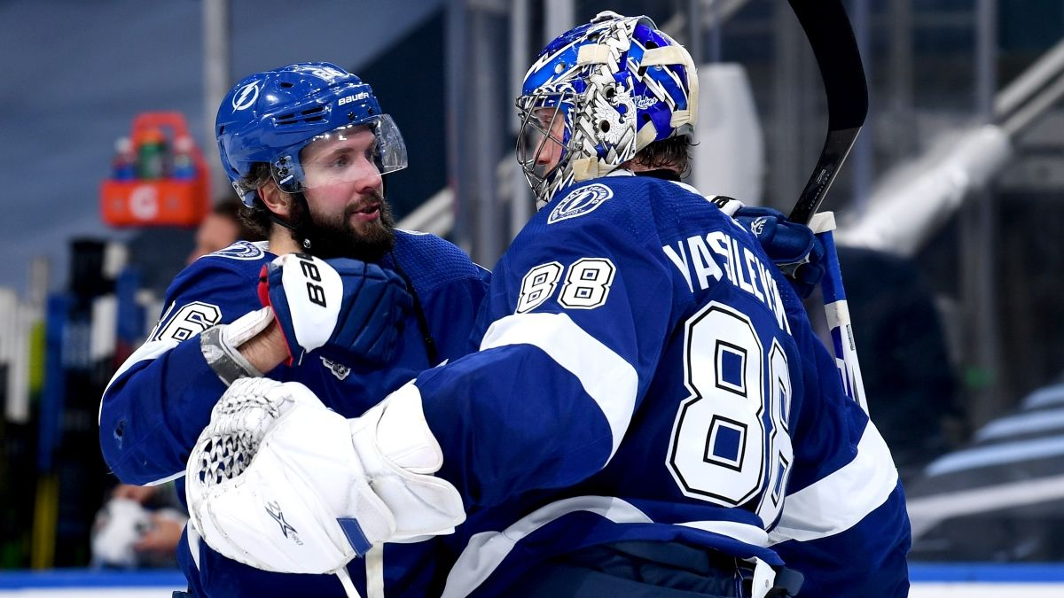 Stanley Cup Game 3 Betting Picks: Our Favorite Bets for Stars vs. Lightning (Wednesday, Sept. 23) article feature image
