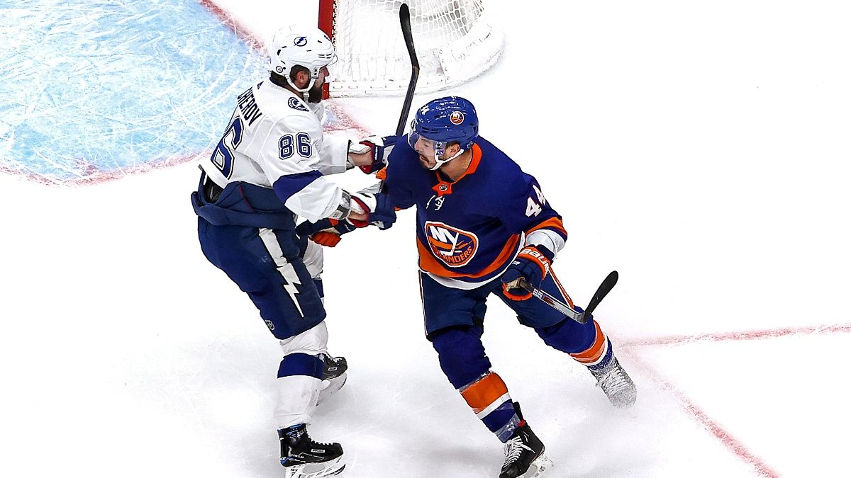 NHL Betting Picks and Props: How to Play the Over/Under in Islanders vs. Lightning article feature image
