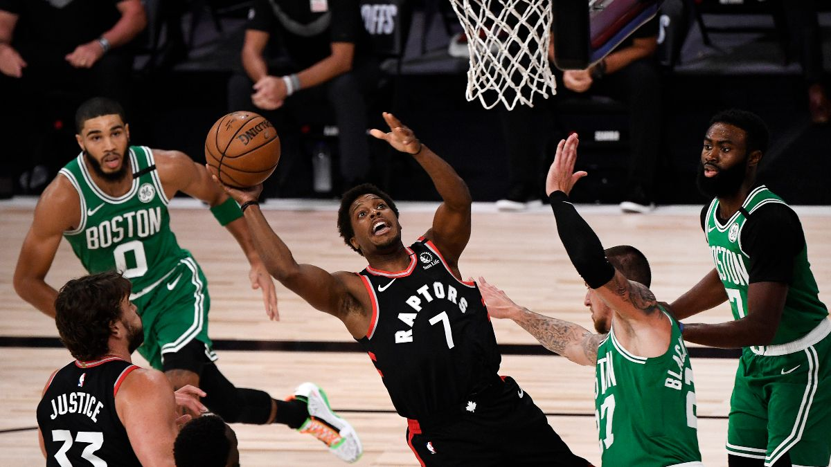 Wednesday NBA Playoffs Betting Odds, Picks & Predictions: Raptors vs. Celtics Preview for Game 6 (Sept. 9) article feature image