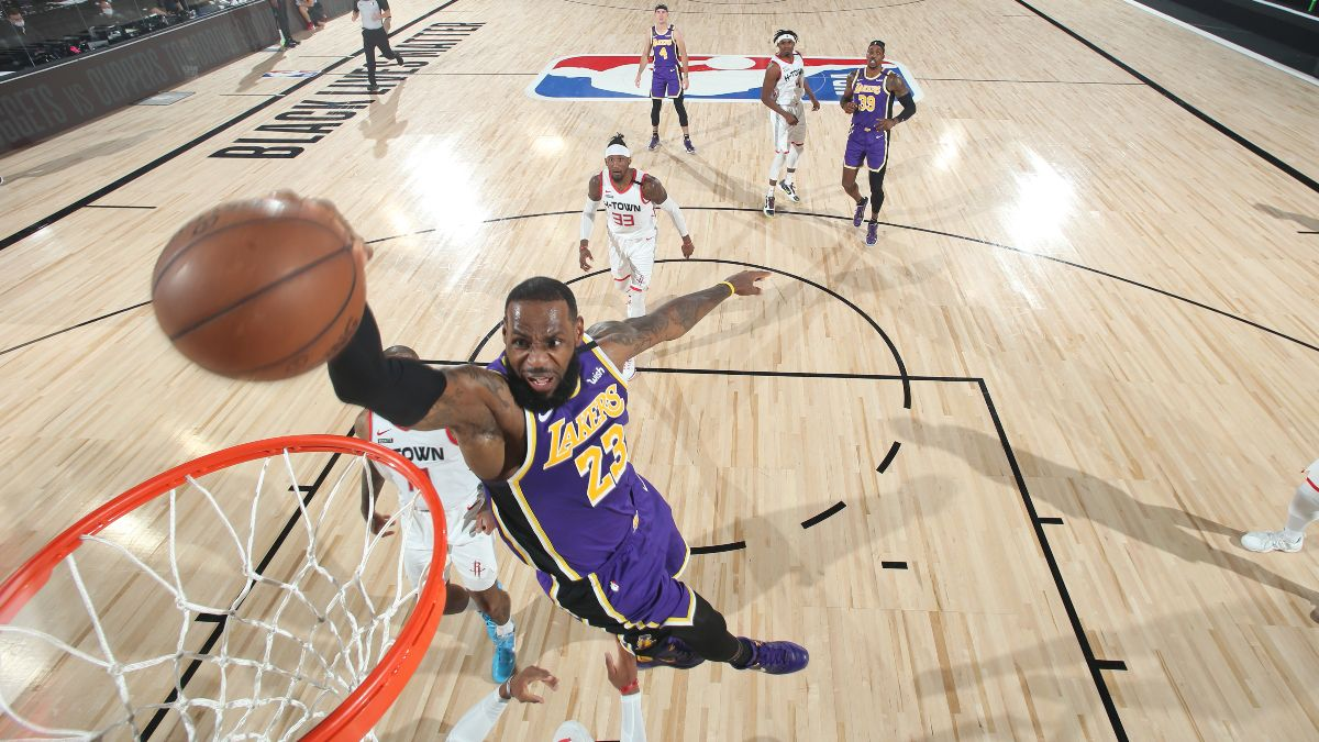 NBA Betting Picks: Our Experts' Favorite Playoff Bets for Lakers vs. Rockets (Thursday, Sept. 10) article feature image