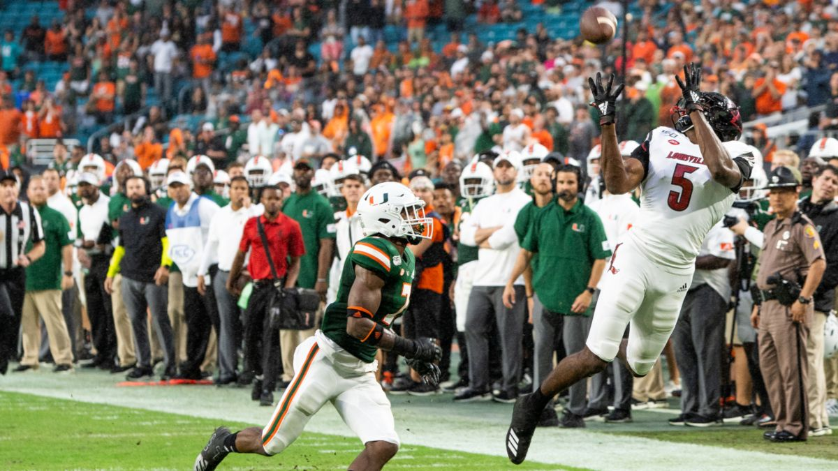 Miami at Louisville Betting Odds & Pick: Hurricanes and Cardinals Settle the Score in Saturday Night Showdown (Sept. 19) article feature image