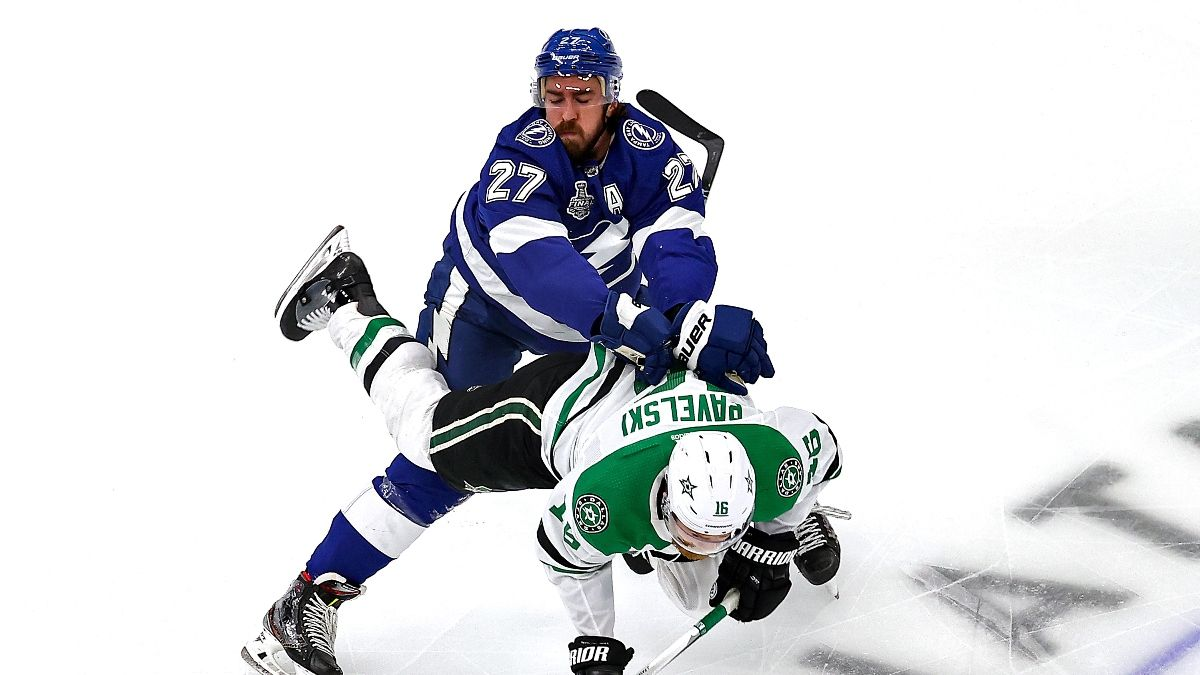 Stanley Cup Final Game 2 Betting Picks: Our Favorite Bets for Lightning vs. Stars (Monday, Sept. 21) article feature image