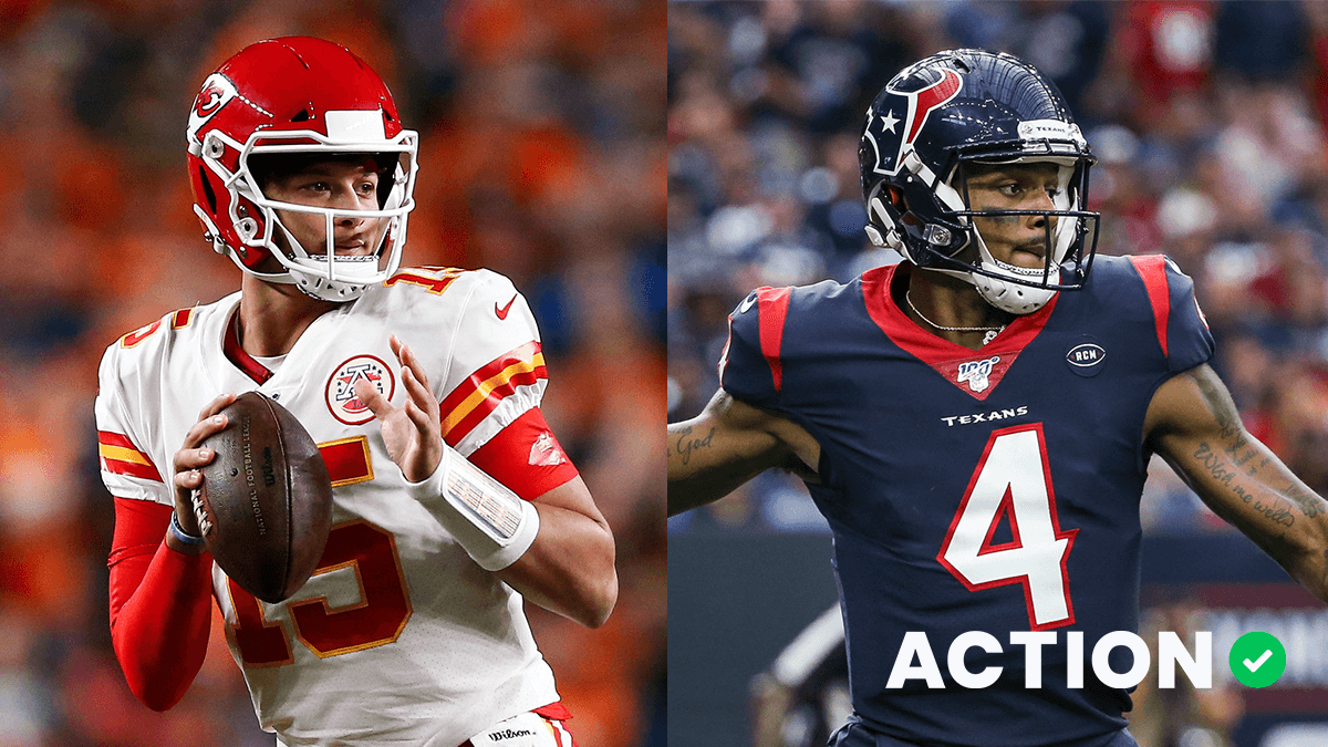 Chiefs-Texans: Bet $1, Win $100 if Patrick Mahomes Throws for a Touchdown article feature image