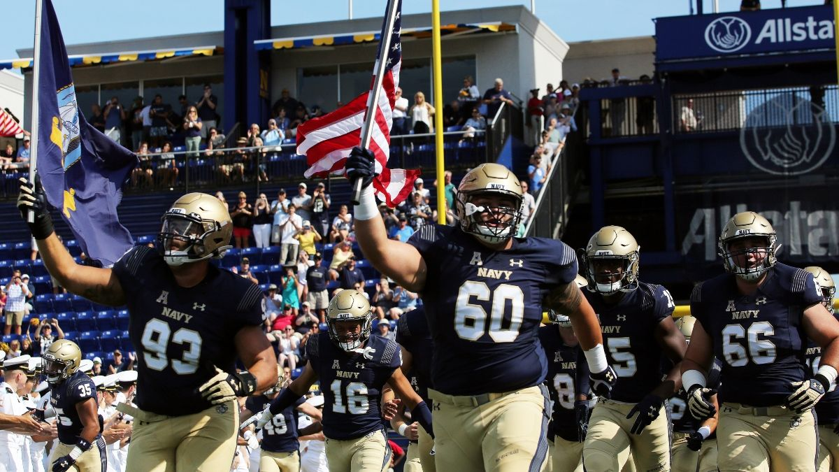 BYU vs. Navy Betting Odds, PRO Report Pick: Sharp Money Moving Over/Under article feature image