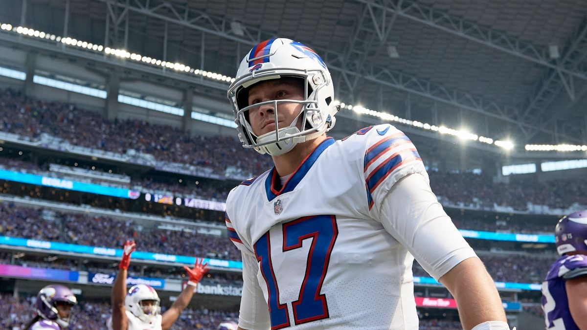 Bills vs. Titans Odds & Promos: Bet $5, Win $100 if Buffalo Covers +50 on Tuesday Night Football article feature image