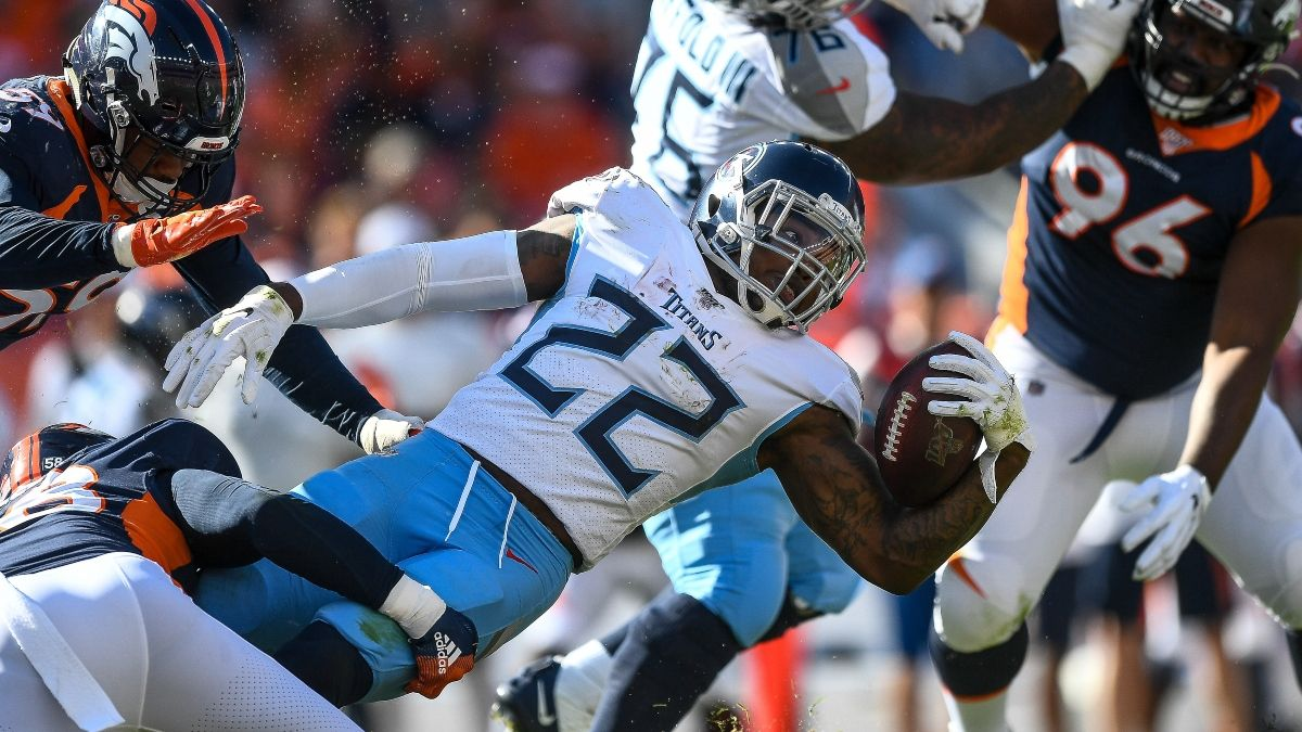 NFL Picks: How We're Betting Titans vs. Broncos On Monday Night Football article feature image