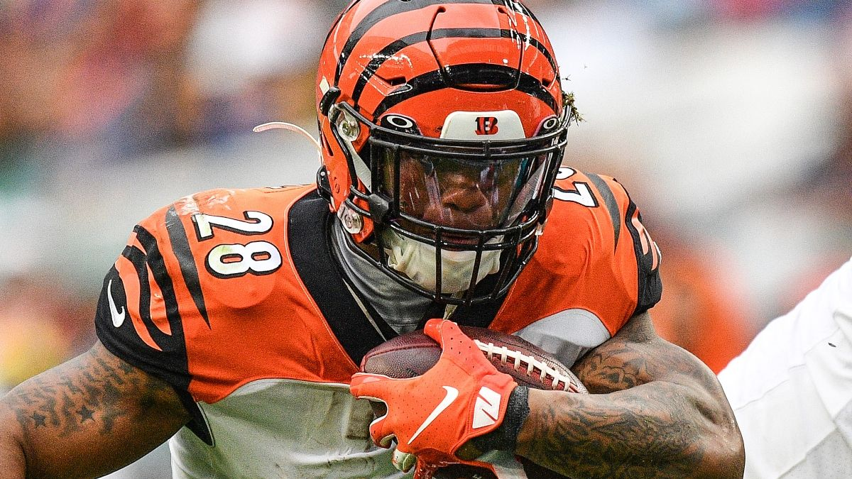 NFL Prop Pick: Bet Joe Mixon's Under for Bengals vs. Browns on Thursday Night Football article feature image
