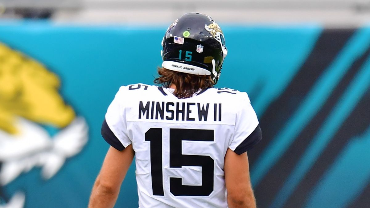 Thursday NFL Prop Pick: Bet On Gardner Minshew's Under For Dolphins vs. Jaguars article feature image