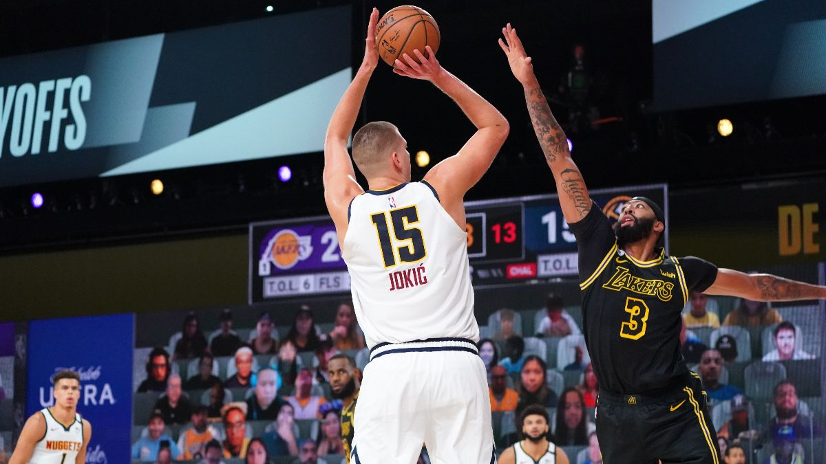 Thursday NBA Betting Picks & Predictions: Our Staff's Best Playoff Bets for Lakers vs. Nuggets Game 4 (Sept. 24) article feature image