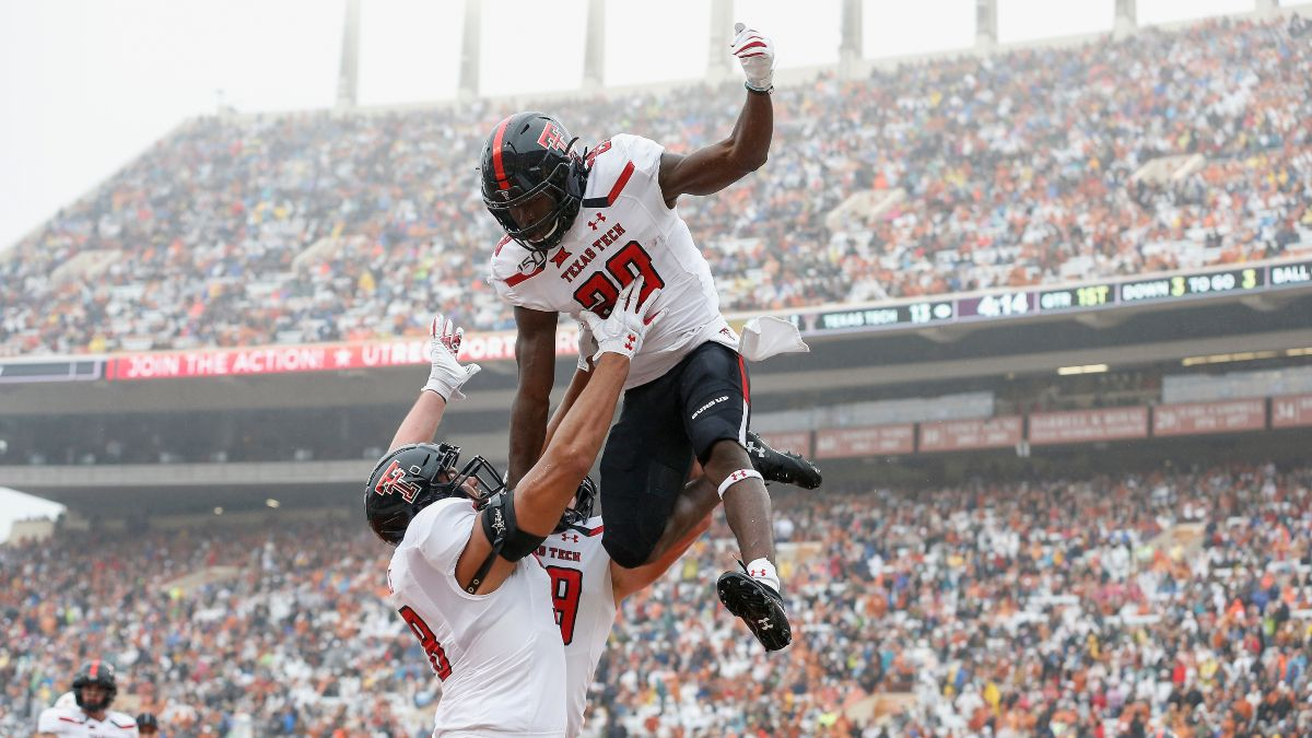 Texas Tech vs. Houston Baptist Betting Odds & Pick: Will the Red Raiders Go For 60 Points? (Saturday, Sept. 12) article feature image