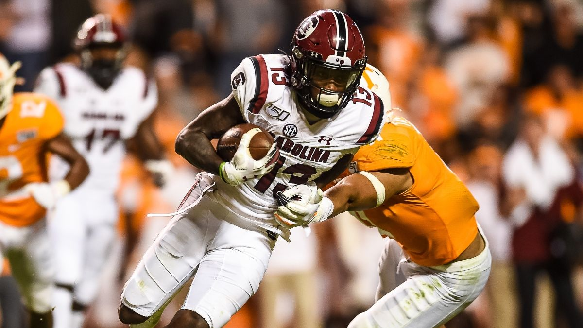 Saturday College Football Sharp Action, Model Projections & Expert Picks for Week 4: Texas vs. Texas Tech, Tennessee vs. South Carolina, More (Sept. 26) article feature image