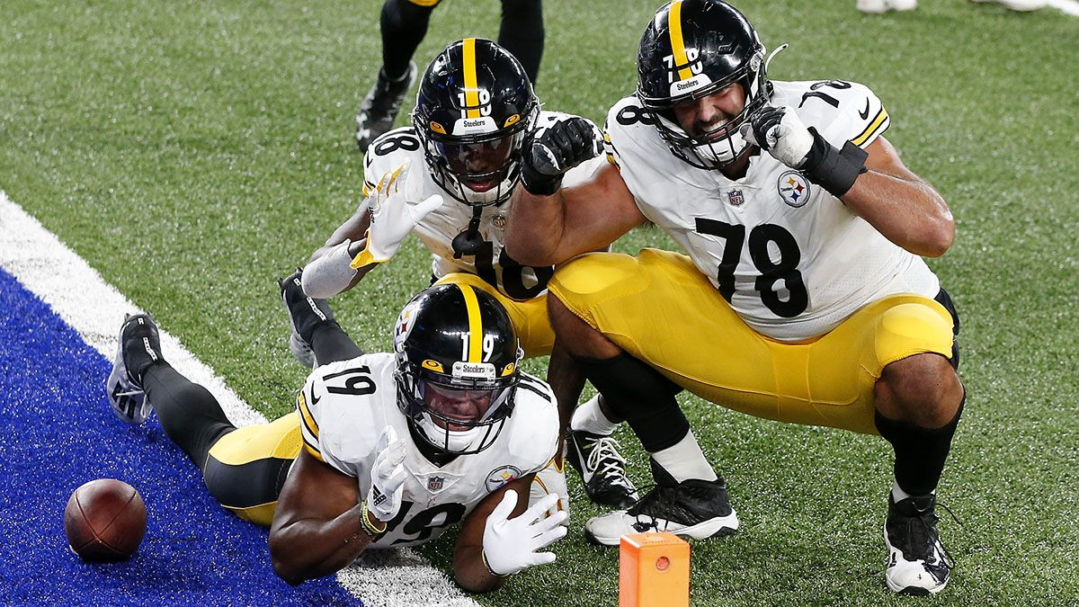 Steelers vs. Ravens Promo: Bet $20, Win $100 if the Steelers Score a TD! article feature image