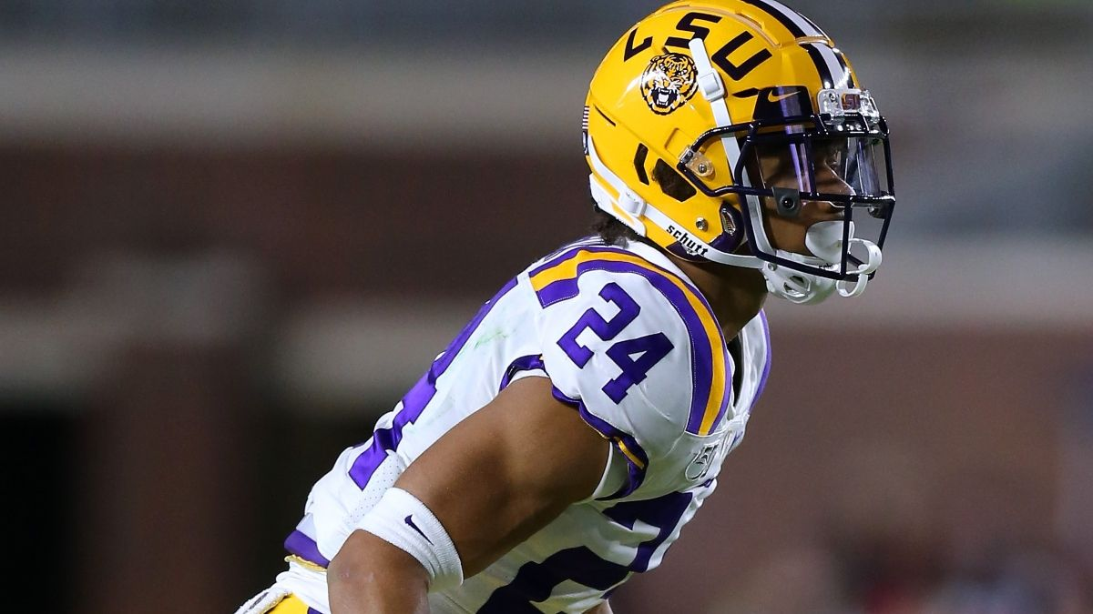 LSU vs. Mississippi State Betting Odds: Derek Stingley Jr. Out, Spread Falls Off Key Number article feature image