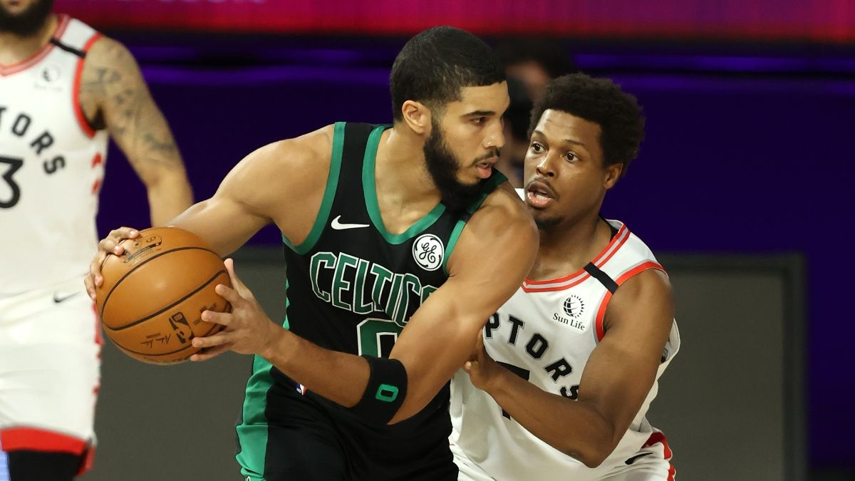 Raptors vs. Celtics PRO Report Pick: Sharp Action, Big Bets, Betting Systems Align on Boston (Saturday, Sept. 5) article feature image