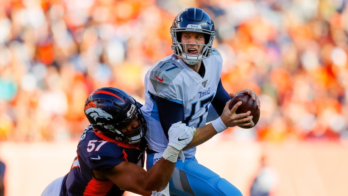 Titans vs. Broncos Odds & Pick: Buy Road Favorite on Monday Night Football (Sept. 14) article feature image