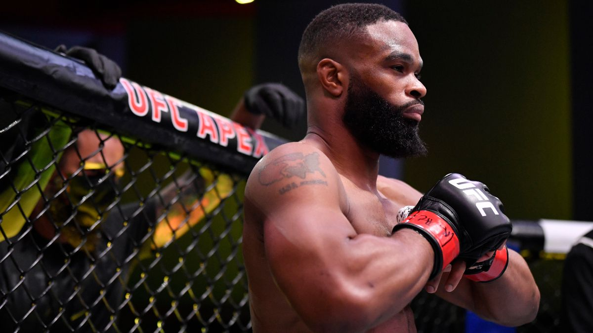 UFC Fight Night Main Event Odds, Pick and Prediction: Colby Covington vs. Tyron Woodley (Saturday, Sept. 19) article feature image
