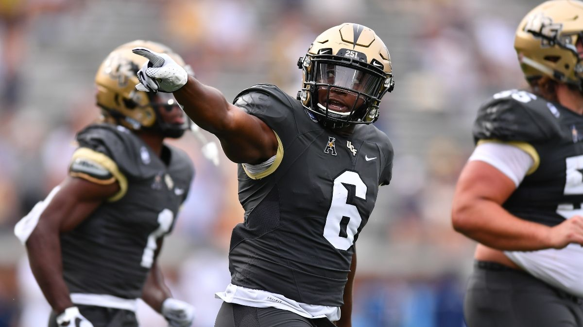 Central Florida vs. East Carolina Odds, Sharp Betting Pick: How the Pros Are Betting Saturday's Highest Over/Under article feature image