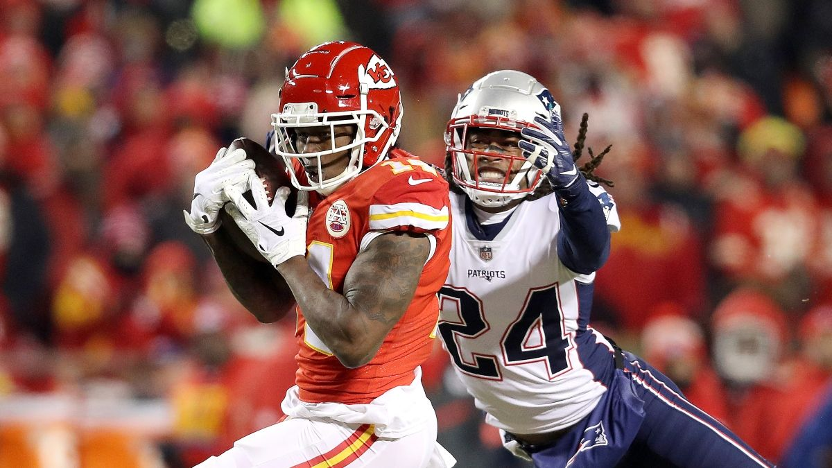 Week 4 WR/CB Matchups: Sammy Watkins vs. Stephon Gilmore, Shadow Grades & More article feature image