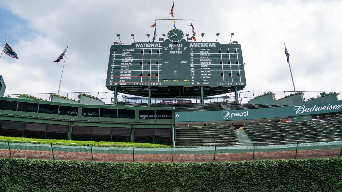 Indians vs. Cubs Betting Odds & Weather Report: Wind at Wrigley Moving Over/Under (Tuesday, Sept. 15) article feature image