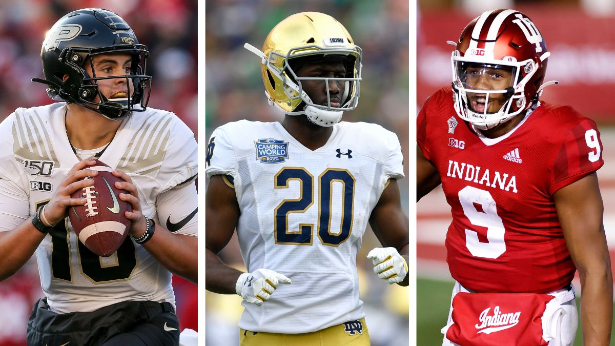 College Football Week 9: The Best Sportsbook Promos for Indiana, Notre Dame & Purdue article feature image