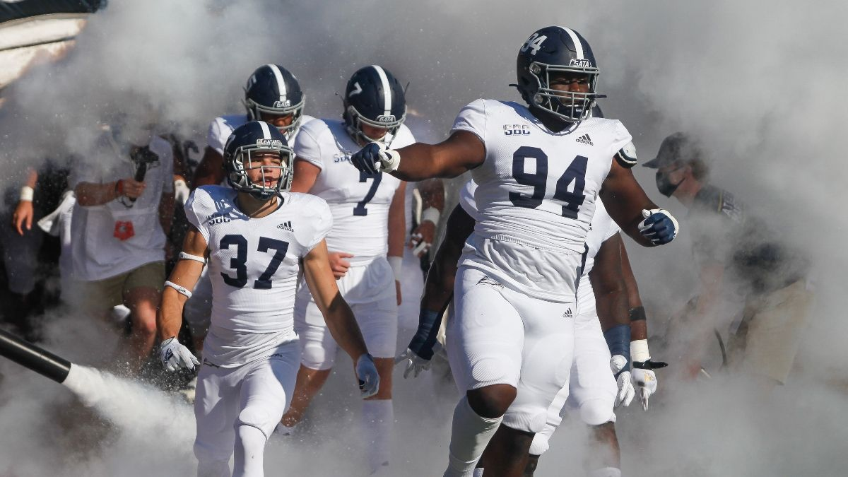 Georgia Southern vs. South Alabama Promo: Bet $20, Win $125 if Georgia Southern Gains a Yard! article feature image