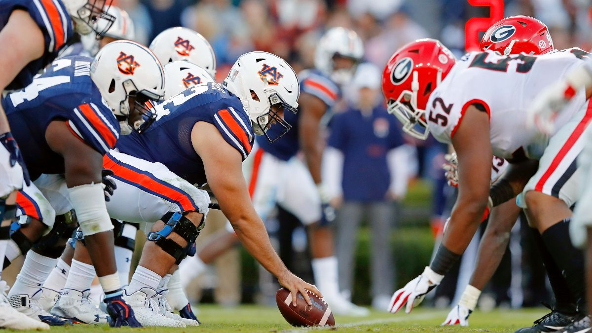 Saturday College Football Odds & Best Bets: How We're Betting SMU vs. Memphis, Georgia vs. Auburn & More (Oct. 3) article feature image